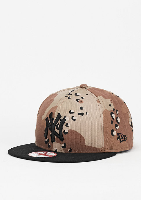New Era Snapback-Cap Camo Crown 950 MLB New York Yankees USMC desert camo