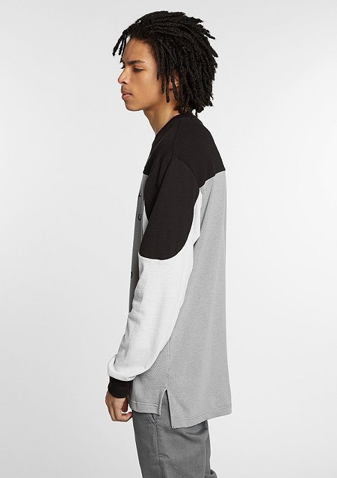 Crooks & Castles Longsleeve Hopper cement/black