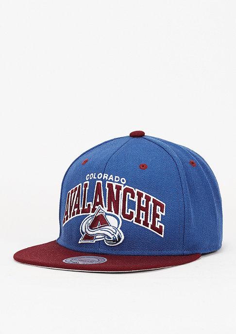 Mitchell & Ness Snapback-Cap Team Arch NHL Colorado Avalanche navy