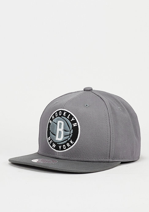 Mitchell & Ness Snapback-Cap Variant NBA Brooklyn Nets grey
