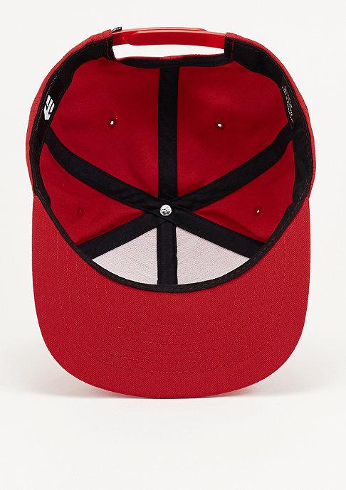 Etnies Snapback-Cap Logo red