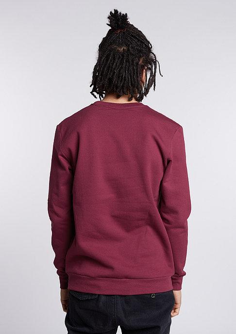 Hype Sweatshirt Hype Script burgundy/white