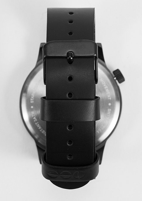 Komono Horloge Winston Regal all black