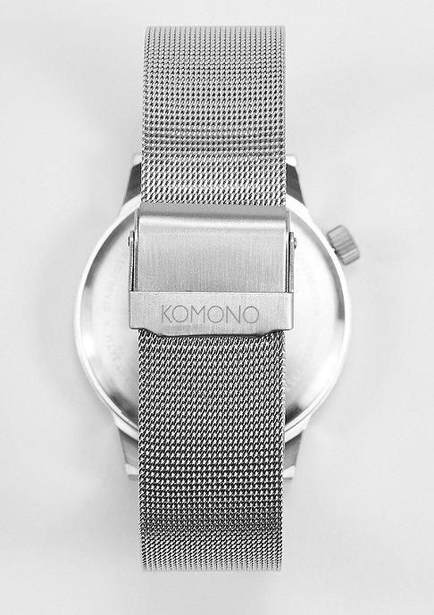 Komono Horloge Winston Royale silver/black