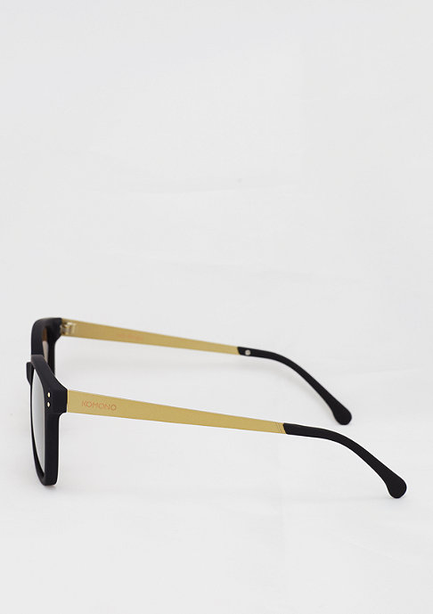 Komono Sonnenbrille Renee metal black/gold