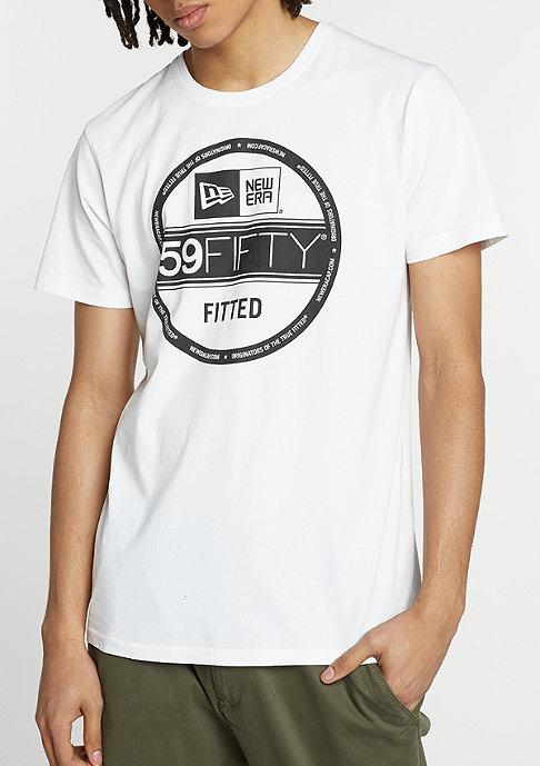 New Era T-Shirt Ess Visor Sticker optic white