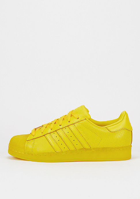 adidas Schoen Superstar Translucient yellow
