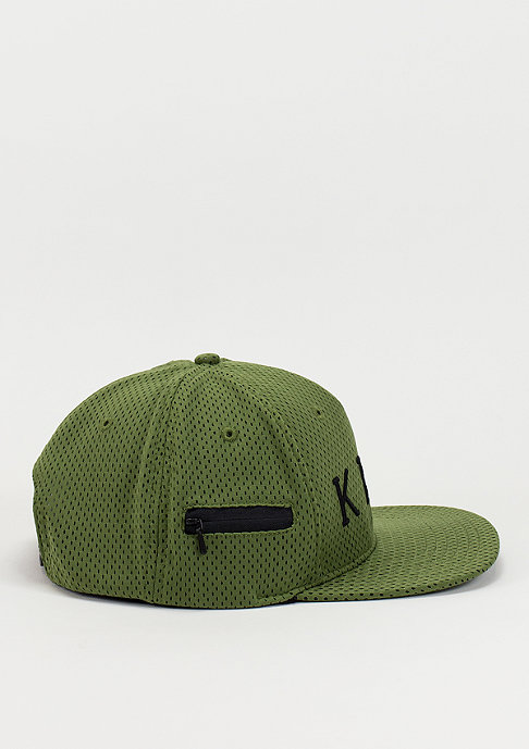 King Apparel Snapback Aesthetic olive