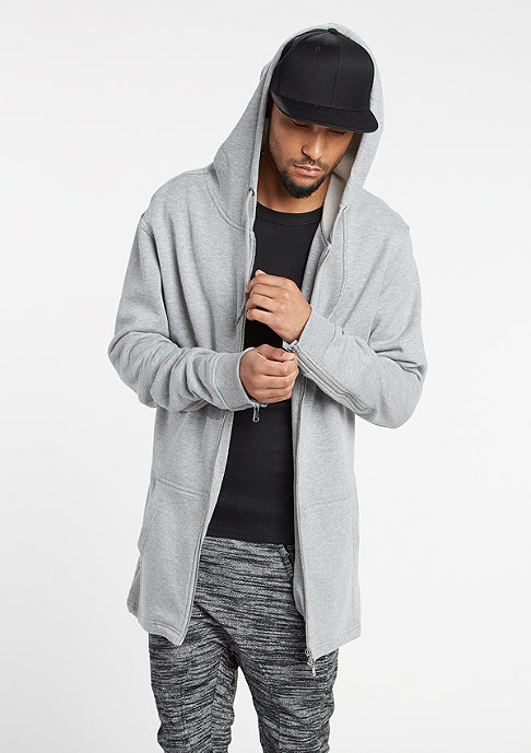 Urban Classics Sweat Parka grey