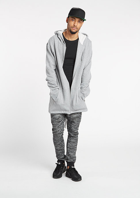 Urban Classics Hooded-Sweatshirt Sweat Parka grey