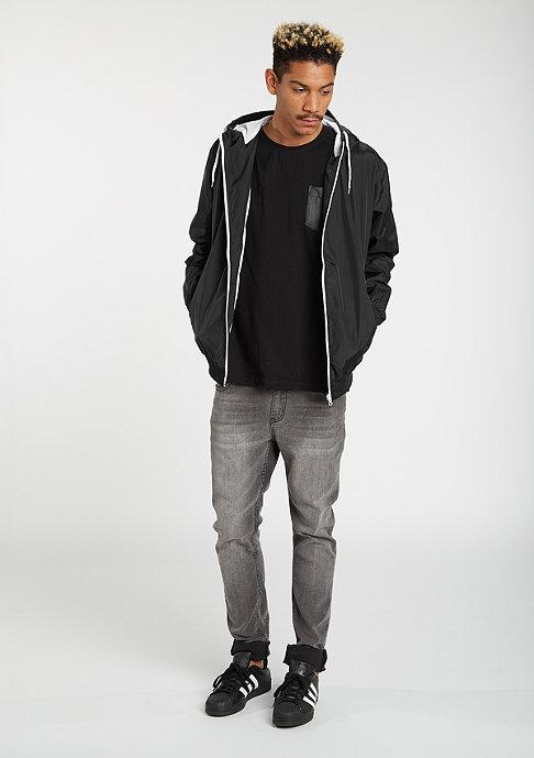 Urban Classics Jacke Contrast Windrunner black/white
