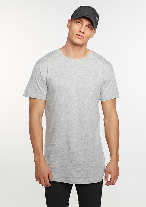 Urban Classics T-Shirt Shaped long grey