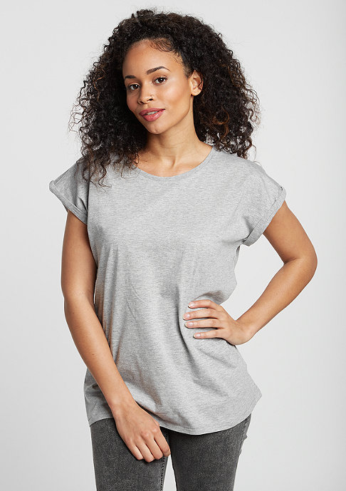 Urban Classics T-Shirt Extended Shoulder grey