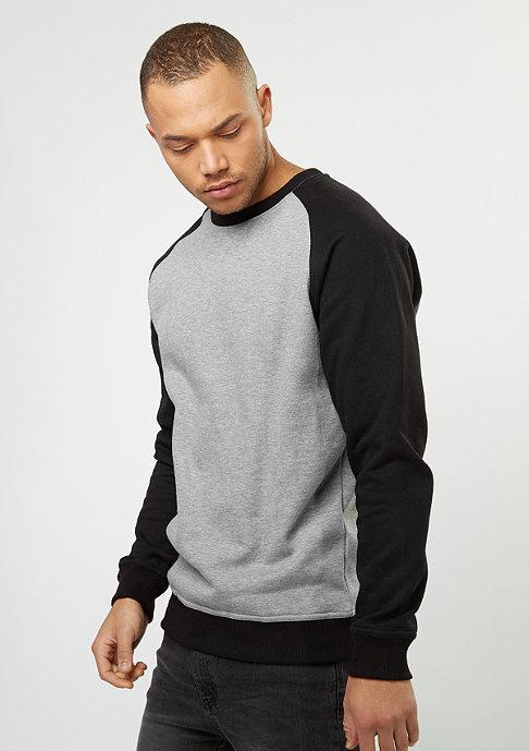 Urban Classics Sweatshirt 2-Tone Raglan grey/black