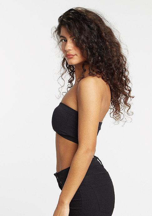 Urban Classics Bandeau Top Laces black