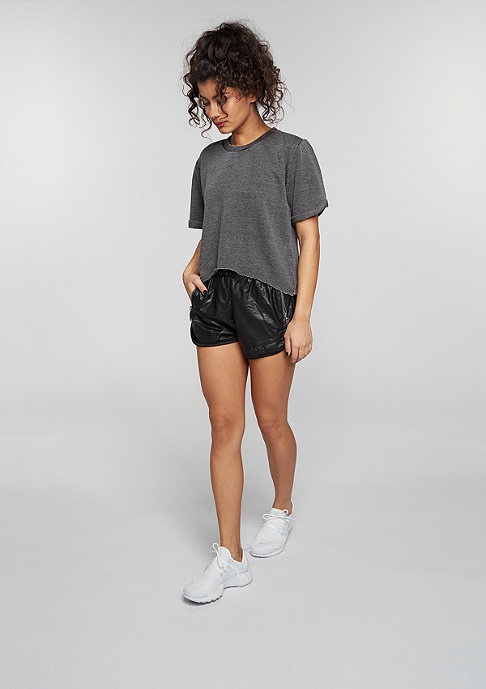 Urban Classics T-Shirt Cropped Burnout dark grey