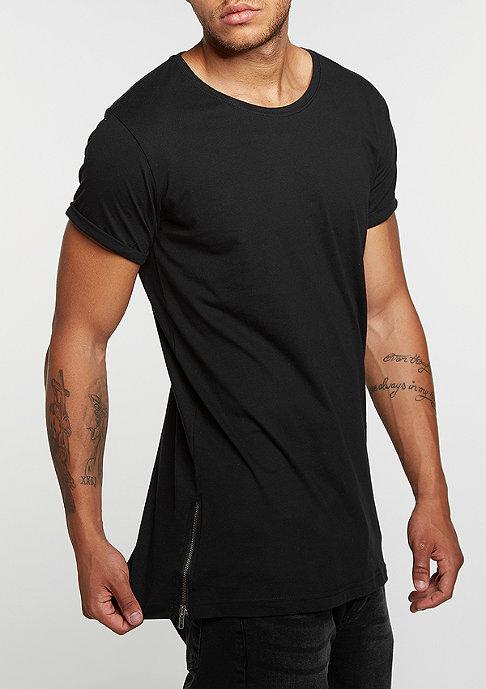Urban Classics Long Shaped Side Zip black