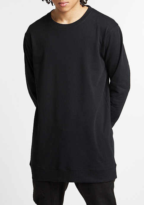 Urban Classics Sweatshirt Long Light Fleece black