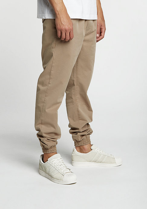Urban Classics Trainingshose Stretch Twill beige