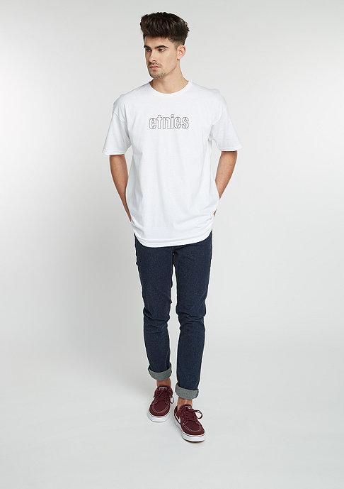 Etnies T-Shirt Mod Stencil white