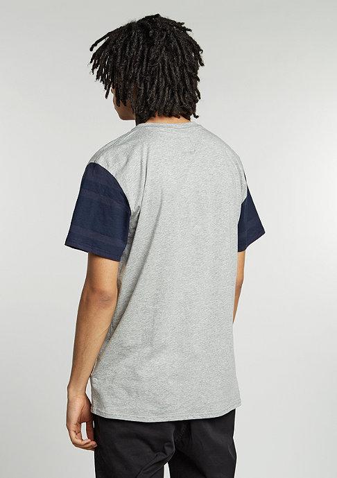 Etnies T-Shirt E-Corp Henley navy/heather