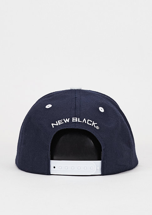 New Black N Patch navy