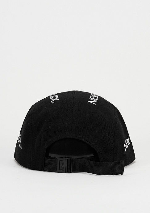 New Black 5-Panel-Cap Logos black