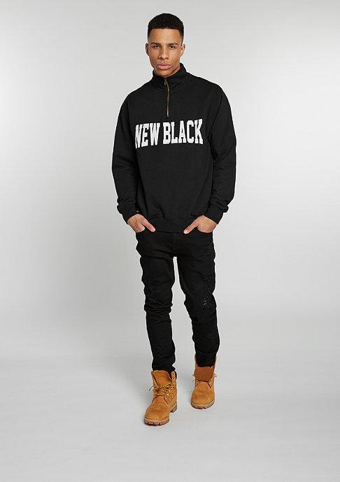 New Black Campus Half Zip black