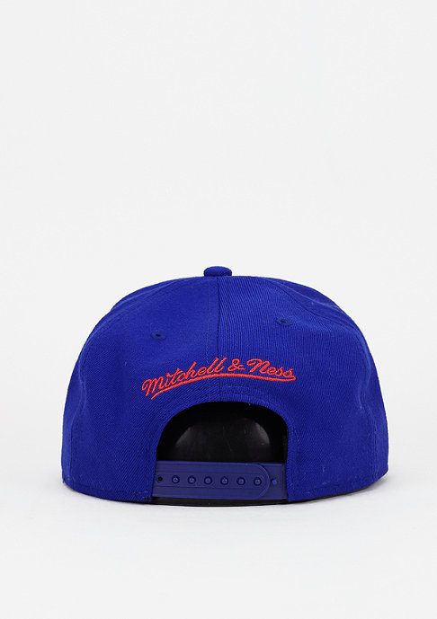 Mitchell & Ness Snapback-Cap Wool Solid NBA Los Angeles Warriors royal