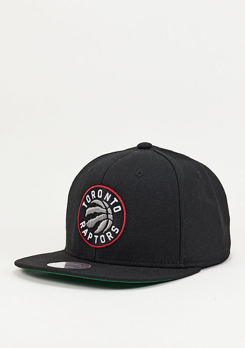 Mitchell & Ness Wool Solid NBA Toronto Raptors black