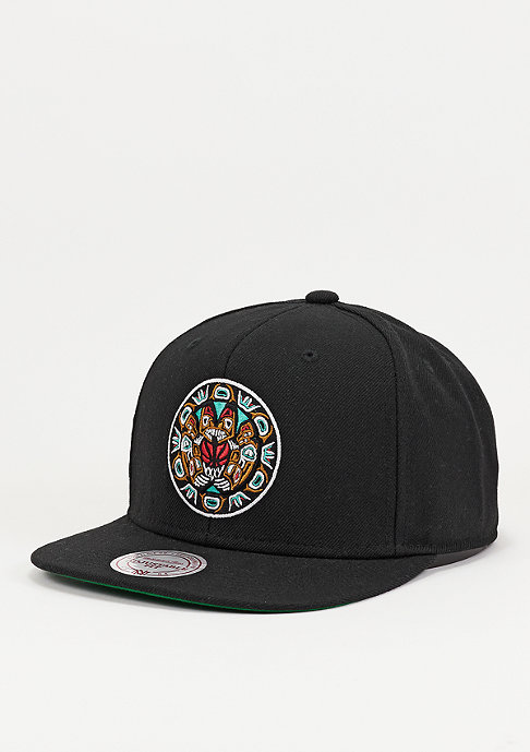 Mitchell & Ness Wool Solid NBA Vancouver Grizzlies black
