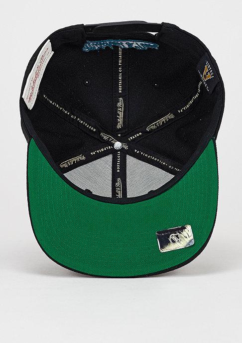 Mitchell & Ness Snapback-Cap Wool Solid NHL Anaheim Ducks black