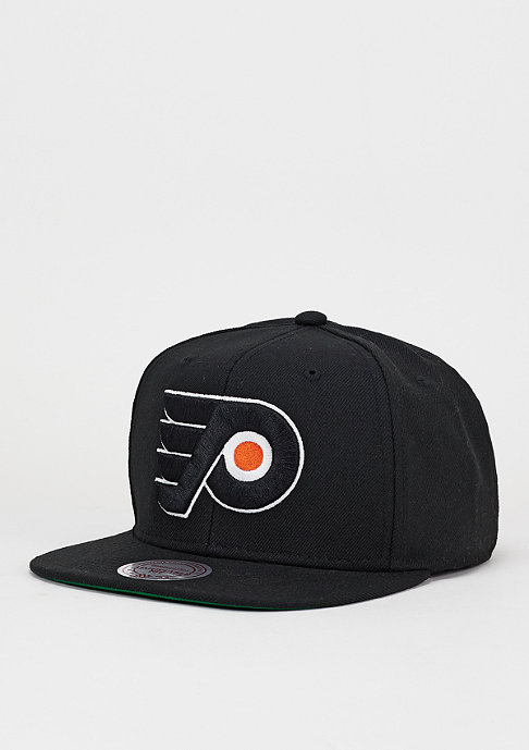 Mitchell & Ness Snapback-Cap Wool Solid NHL Philadelphia Flyers black