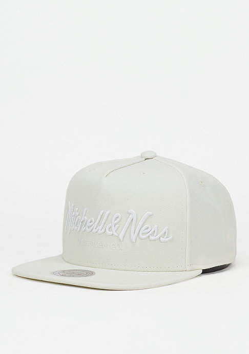 Mitchell & Ness Pinscript off white