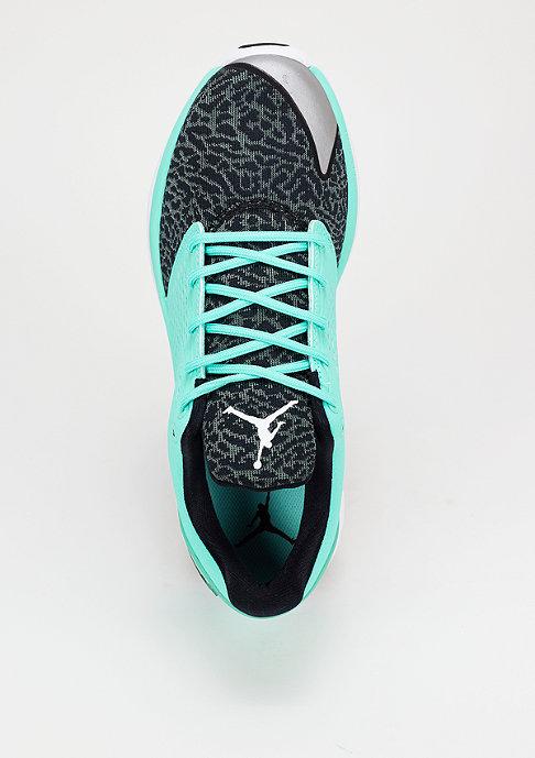 JORDAN Laufschuh ST Trainer hyper turquoise/black/hasta/white
