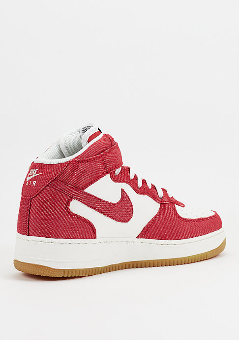 NIKE Air Force 1 Mid 07 university red/sail/gum light