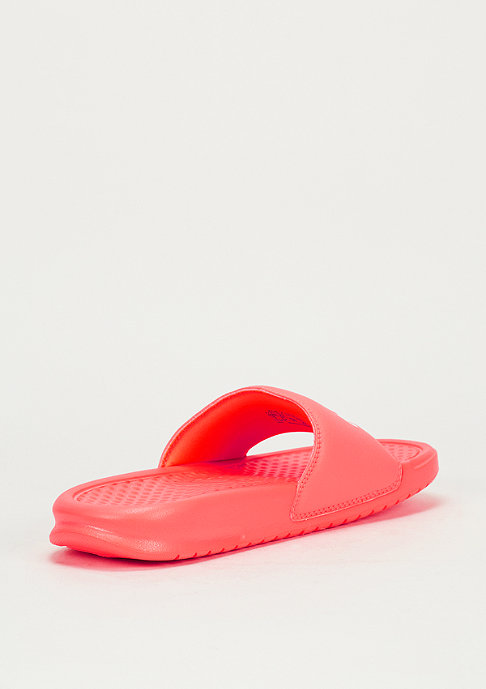 NIKE Benassi Just Do It bright mango/white/bright mango