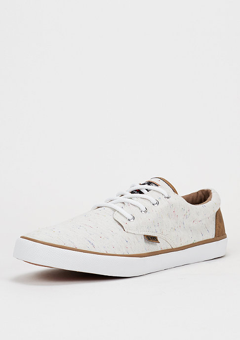 Djinn's Schuh Nice Spotted Linen off white