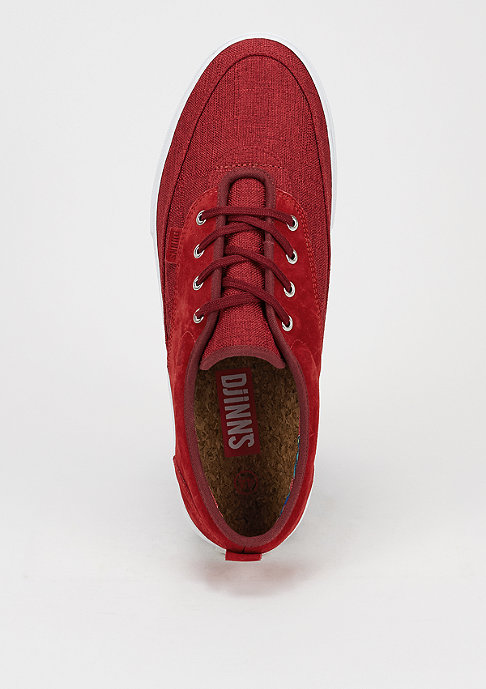 Djinn's Schoen Dockside Linen Skin red