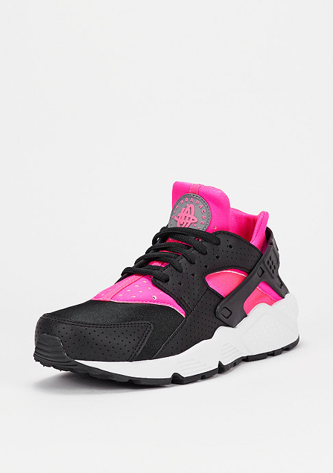 NIKE Air Huarache Run pink blast/black