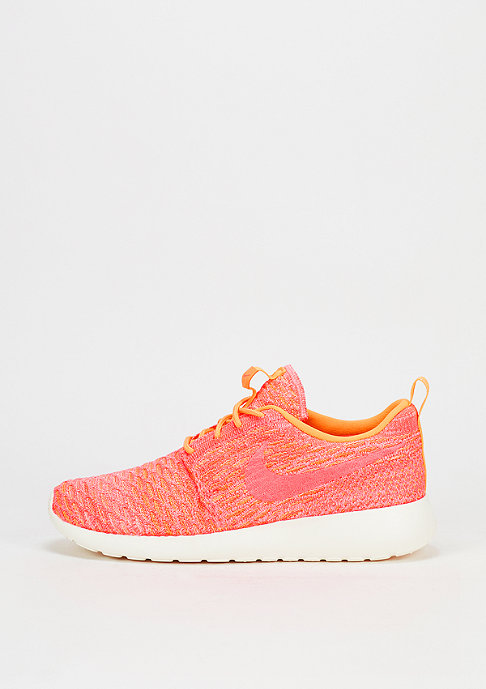 NIKE Roshe One Flyknit laser orange/bright mango/sail