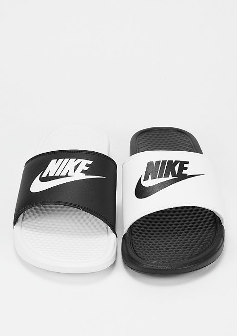 NIKE Benassi Just Do It Mismatch black/white