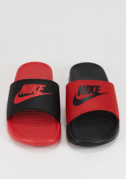 NIKE Benassi Just Do It Mismatch university red/black