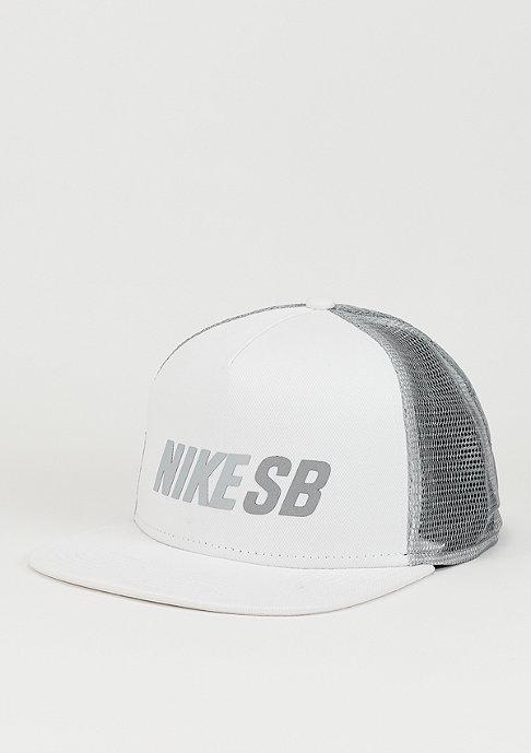 NIKE SB Reflect Trucker white/wolf grey/wolf grey