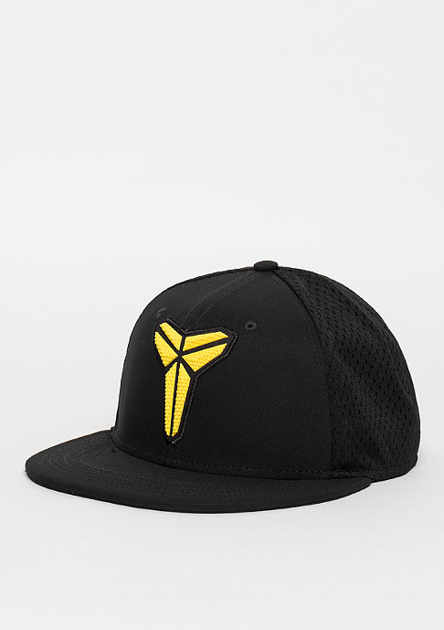 NIKE Snapback-Cap Kobe Performance True black/black/black/tour yellow
