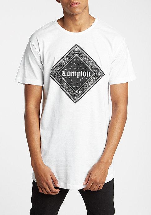 Mister Tee Compton Bandana Long white