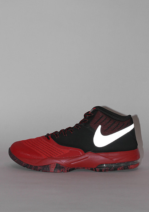 NIKE Basketballschuh Air Max Emergent university red/metallic silver/black