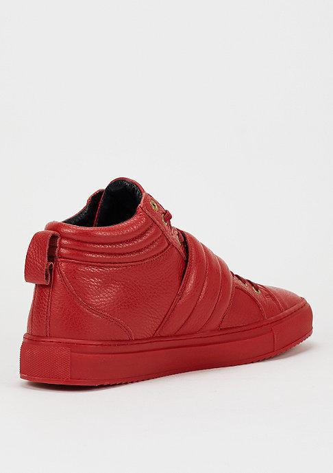 Black Kaviar Schuh Garc red