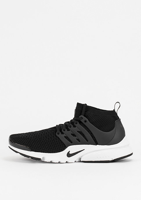 NIKE Air Presto Ultra Flyknit black/black/white/electric green