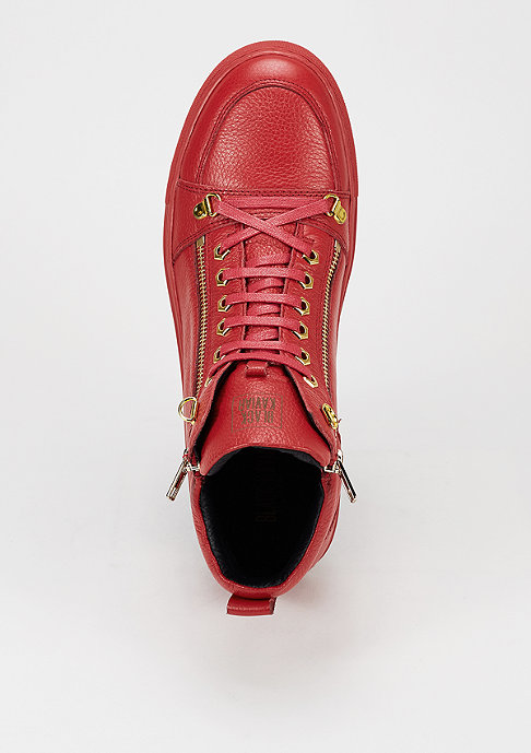 Black Kaviar Schuh Gean red